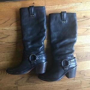 Frye black boots size 7